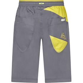 La Sportiva Bleauser Shorts Men, carbon/kiwi